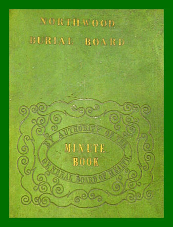 Burial Board Minute Book