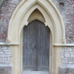 Restored Entrance of East Chapel