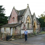 The delapidated West Chapel 2008