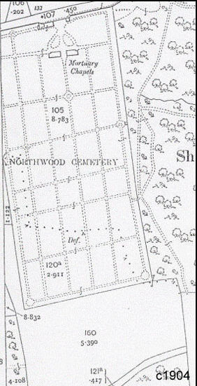 Northwood_Cemetery_Map_1904